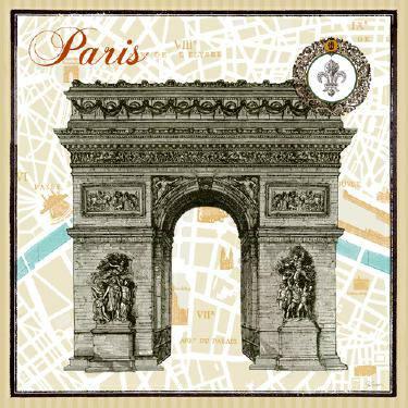 Monuments des Paris Arc von Sue Schlabach