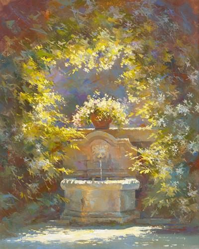 Fraecheur au Baux de Provence von Johan Messely