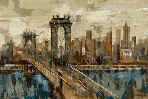 New York View von Silvia Vassileva