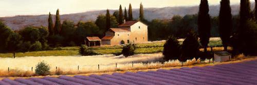 Lavender Fields Panel II von James Wiens