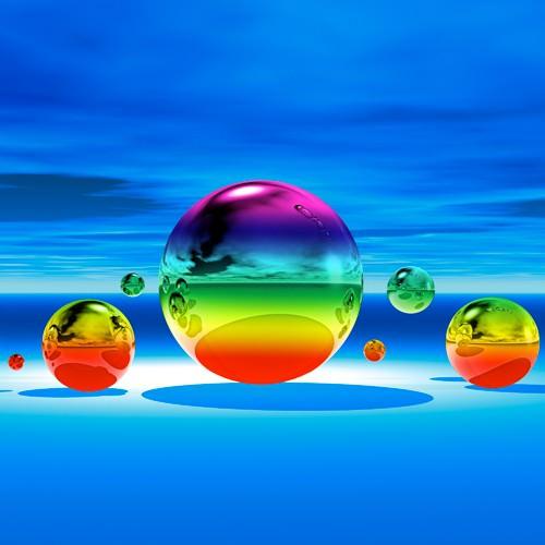 Rainbowl II von Peter Hillert