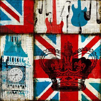 British Rock I von Michael Mullan