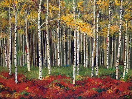 Aspen Forest von Miro Kenarov