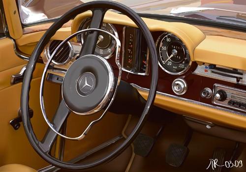 280 SL von Pierre Strapelias - PR