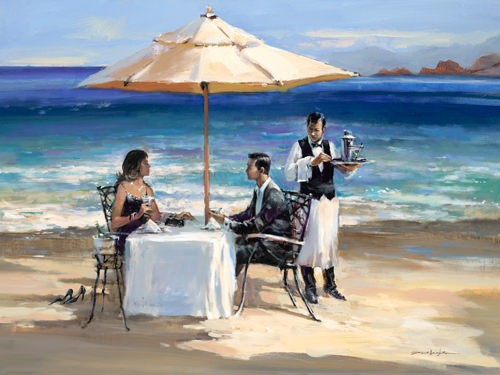 Seaside Rendezvous von Brent Heighton
