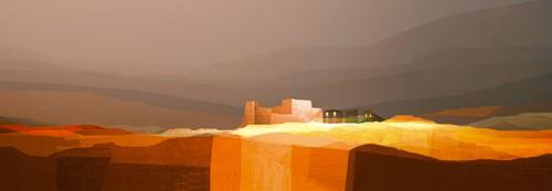 Landscape under the Hidden Moon I von Fernando Hocavar