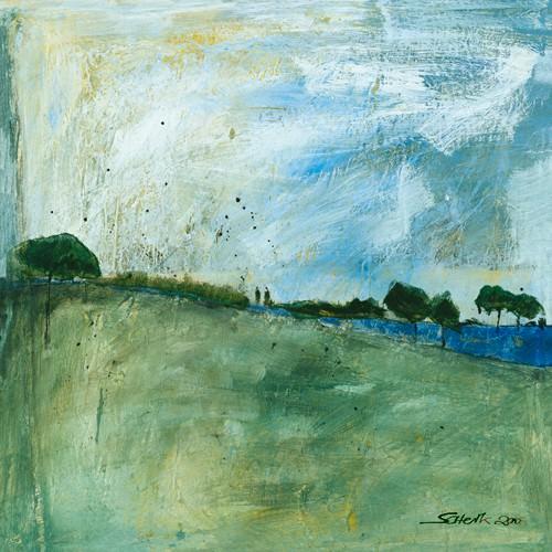 Blue Landscape von Gabriele Scherk