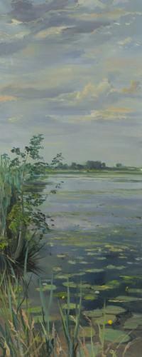 Water Lilies Earneweld I von Gosse Koopmans