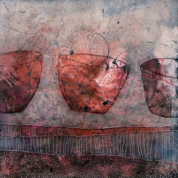 Keramik-Balletteusen von Franziska Schmalzl