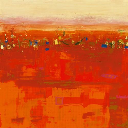 Red Landscape von Rose Richter-Armgart