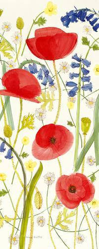 Meadow Poppies III von Rebecca Bradley