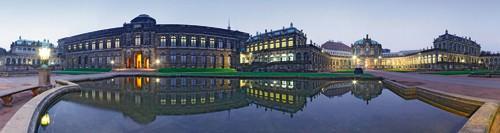 Zwinger Dresden Abendstimmung von Rolf Fischer