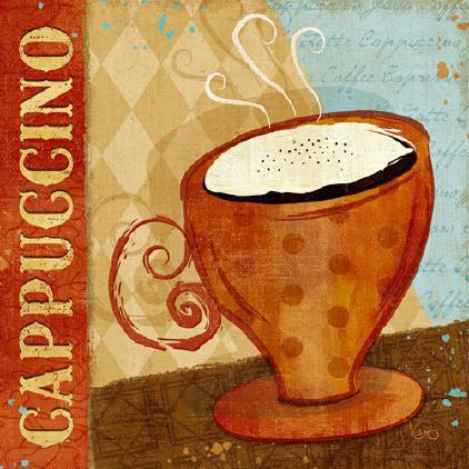 Jazzy Coffee I von Veronique Charron