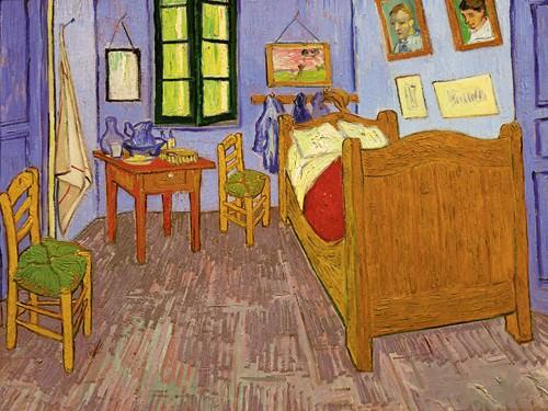 Schlafzimmer in Arles von Vincent van Gogh