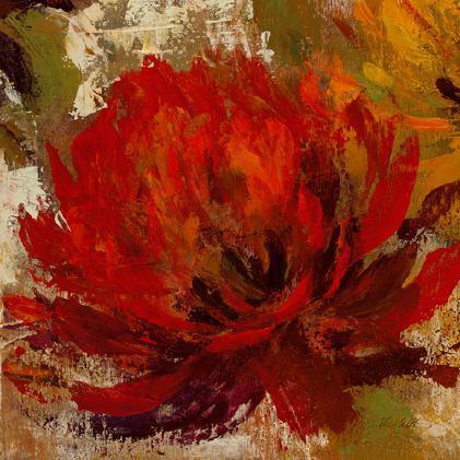 Fiery Dahlias II von Silvia Vassileva
