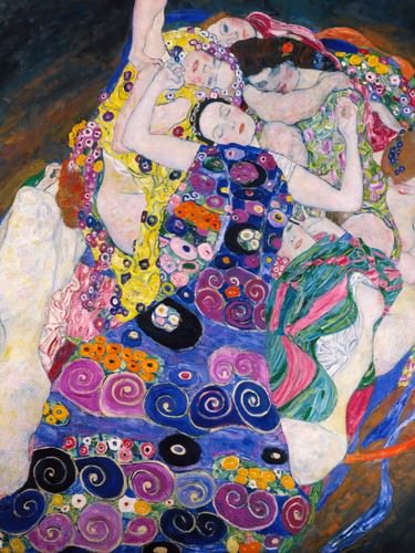 Le Vergini von Gustav Klimt