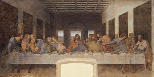 LeUltima Cena von Leonardo da Vinci
