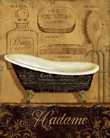 Bain de Madame von Daphne Brissonnet