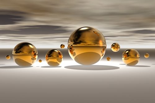 Golden Bowl II von Peter Hillert