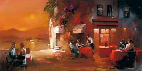 Dinner for Two I von Willem Haenraets