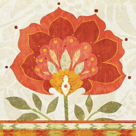 Ikat Bloom II von Sue Schlabach