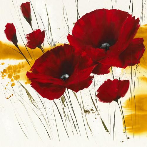 Liberte fleurie I von Isabelle Zacher-Finet