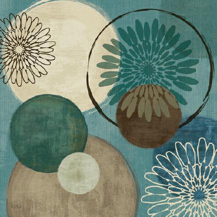 Flora Mood I von Veronique Charron
