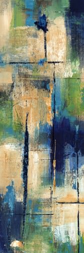 Indigo Splash I von Carmen Dolce