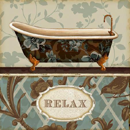 Bathroom Bliss I von Lisa Audit