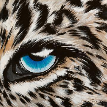 Leopardenauge von Jutta Plath