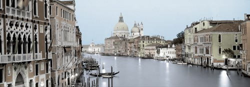 Evening on the Grand Canal von Alan Blaustein