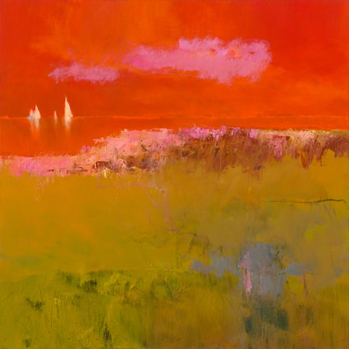 Pink Cloud von Jan Groenhart