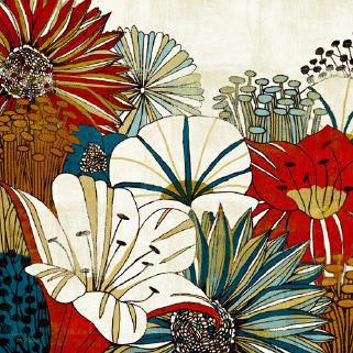 Contemporary Garden I von Michael Mullan