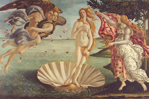 Geburt der Venus von Sandro Botticelli