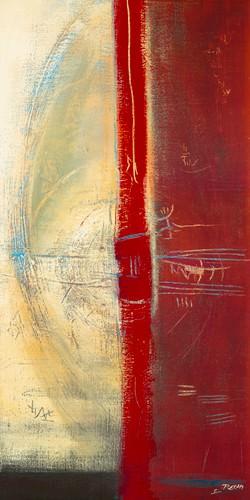 Lignes rouges II von Carole Becam