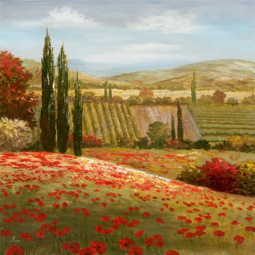 Tuscan Cypress I von Nan