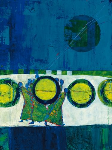 Moonlight Shadow von Marjolijn van Ginkel