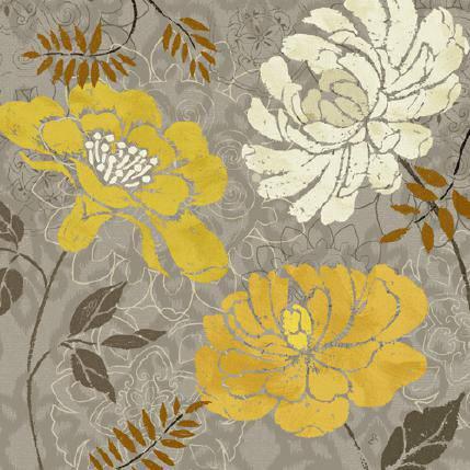 Morning Tones Gold I von Daphne Brissonnet