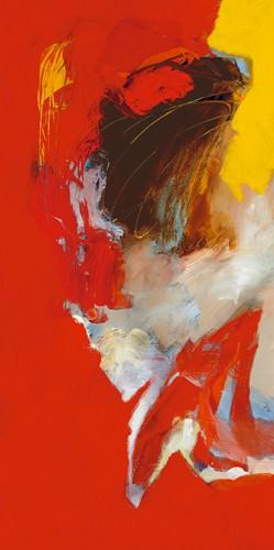 Triptyque rouge I von Pascal Magis