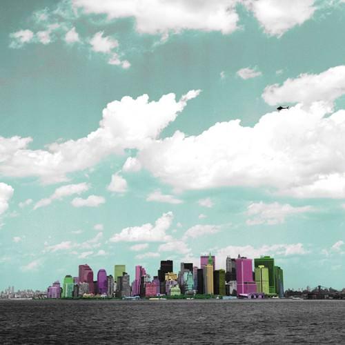 Manhattan Island von Anne Valverde