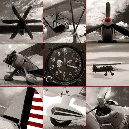 Aircraft Montage von Matt McCarthy