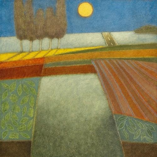 Evening Shadows II von Rob van Hoek