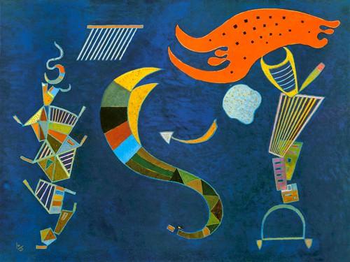 Mit dem Pfeil, 1943 von Wassily Kandinsky