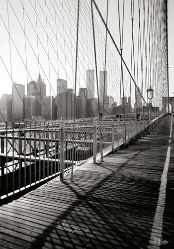 Brooklyn Bridge Walkway von Ralf Uicker