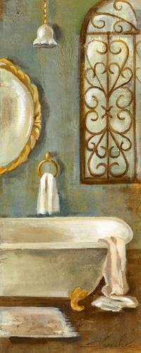 Vintage Bath II von Silvia Vassileva