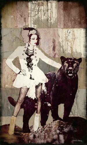 Pantherfrau von Shirin Donia