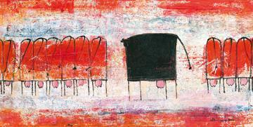 Schwarze Kuh von Marianne Kindt