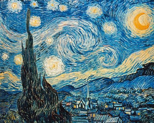 Sternennacht von Vincent van Gogh