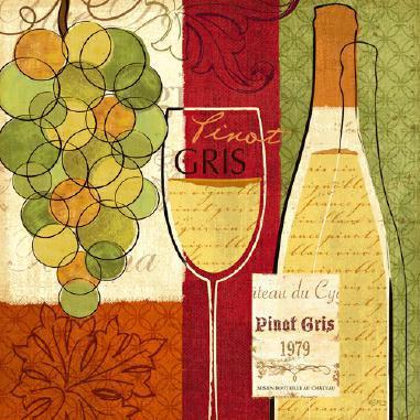 Wine and Grapes II von Veronique Charron