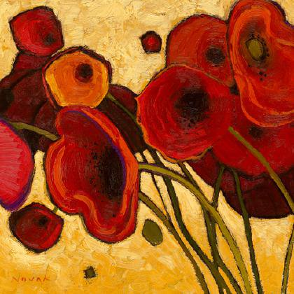 Poppies Wildly I von Shirley Novak